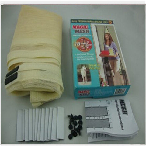 Hands Free Magic Mesh Screen Net Door