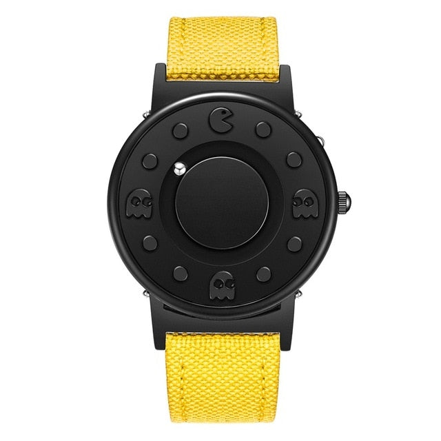 Magnetic Pac-Man Time Piece Watch