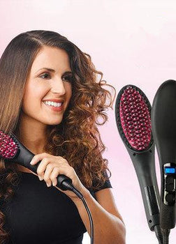 Hair Brush Straightener (Super Hot Deal! Best Seller!!!)