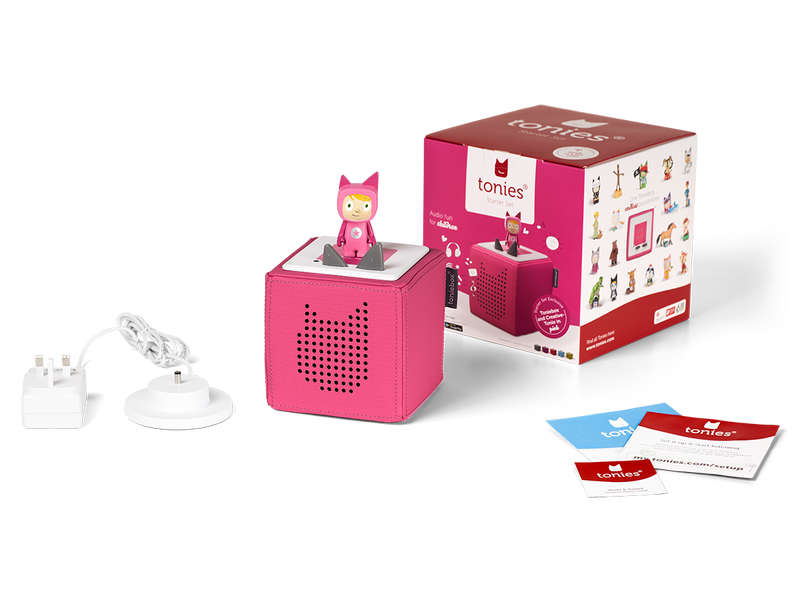 Toniebox Starter Set-Pink  BUY me for £62.95 with code TONIES10