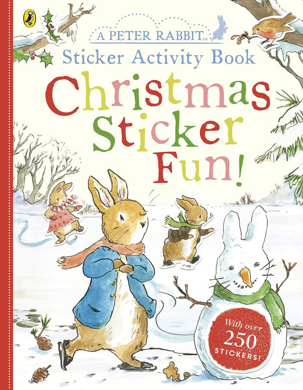 PETER RABBIT CHRISTMAS STICKER FUN (0-5yrs)