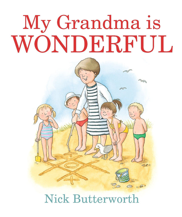 MY GRANDMA IS WONDERFUL (BOARD) (0-5yrs)
