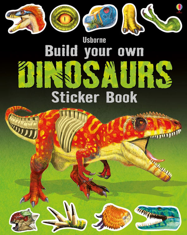 BUILD YOUR OWN DINOSAURS STICKER BOOK (5-10YRS)