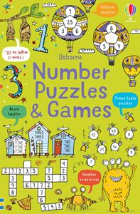 NUMBER PUZZLES AND GAMES (5-10YRS)