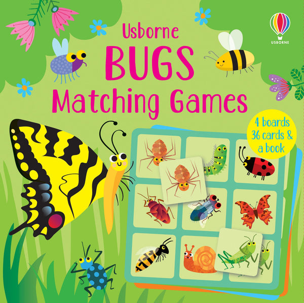 BUGS MATCHING GAME (ages 0-5yrs)