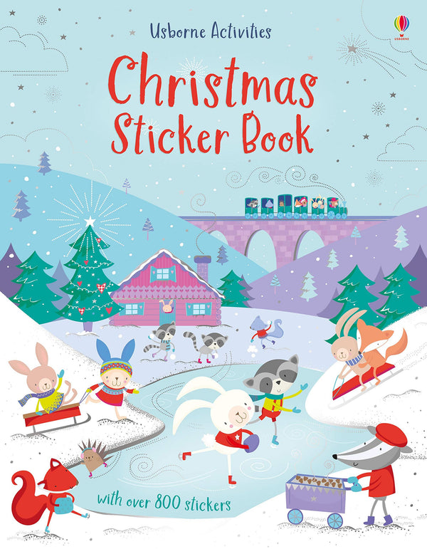 CHRISTMAS STICKER BOOK (USBORNE ACTIVITIES NEW) (0-5years)