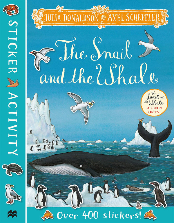 SNAIL AND THE WHALE STICKER ACTIVITY (new)