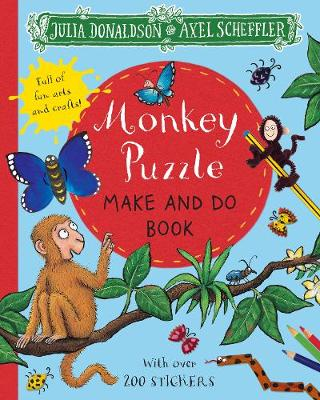 Monkey Puzzle Make and Do Book (Paperback)