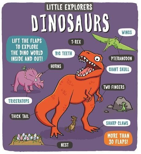 Little Explorers Dinosaurs (0-5yrs)