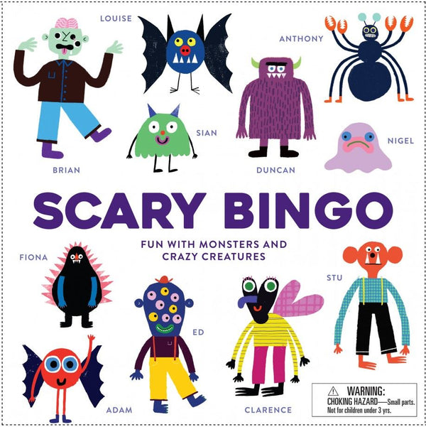 SCARY BINGO (ages 5-10yrs)
