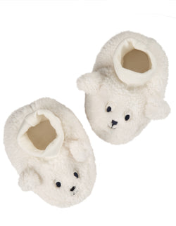 Cosy Booties, Soft White/Sheep