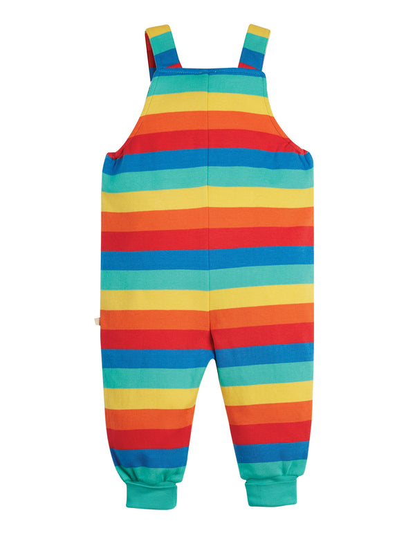 Parsnip Dungaree, Rainbow Stripe