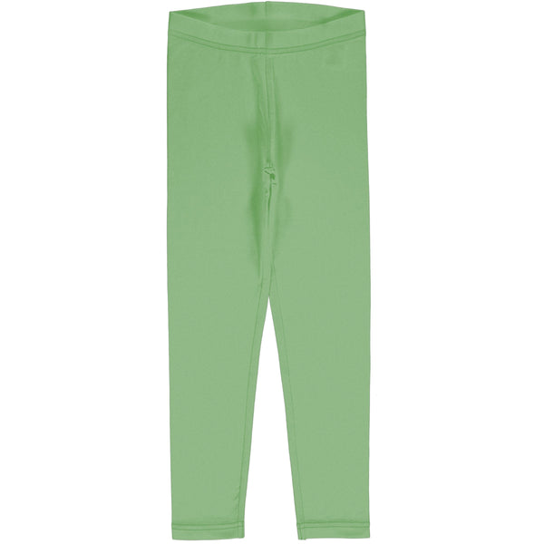 Meyadey Leggings Solid Greengage