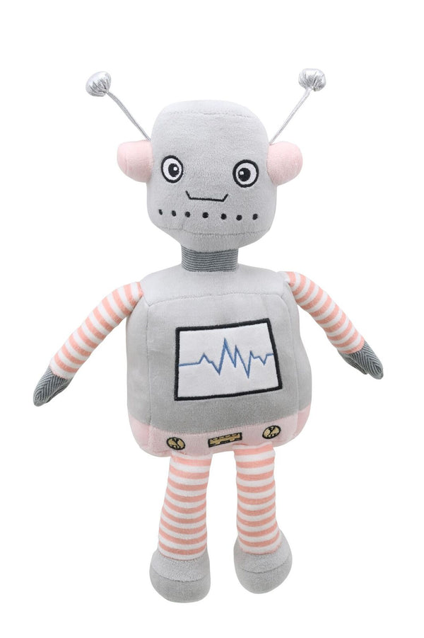 Robot (Grey/Pink) - Wilberry Robots