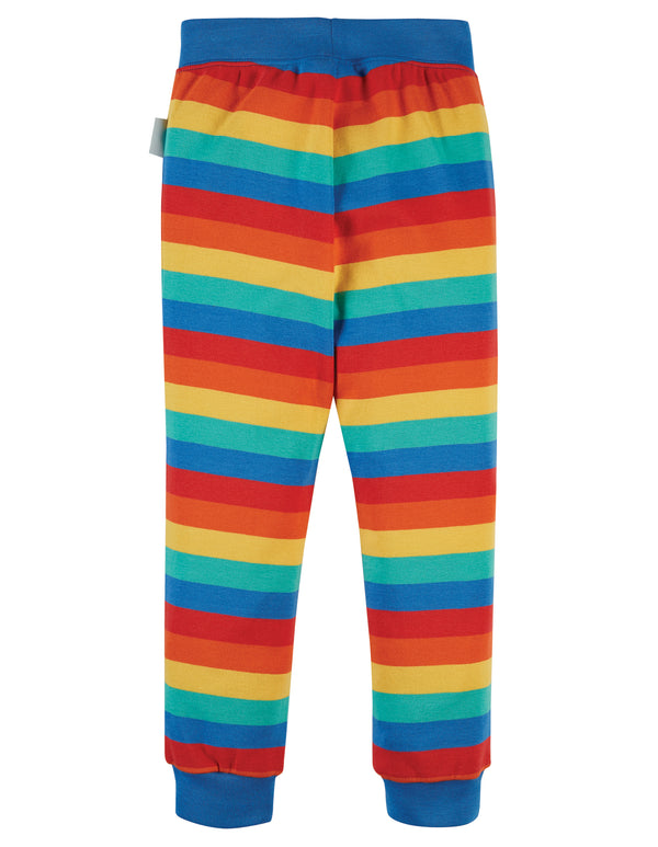 Favourite Cuffed Leggings, Rainbow Stripe