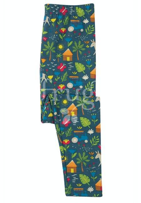 Libby Printed Leggings, Indigo Farm (Indie Exclusive)