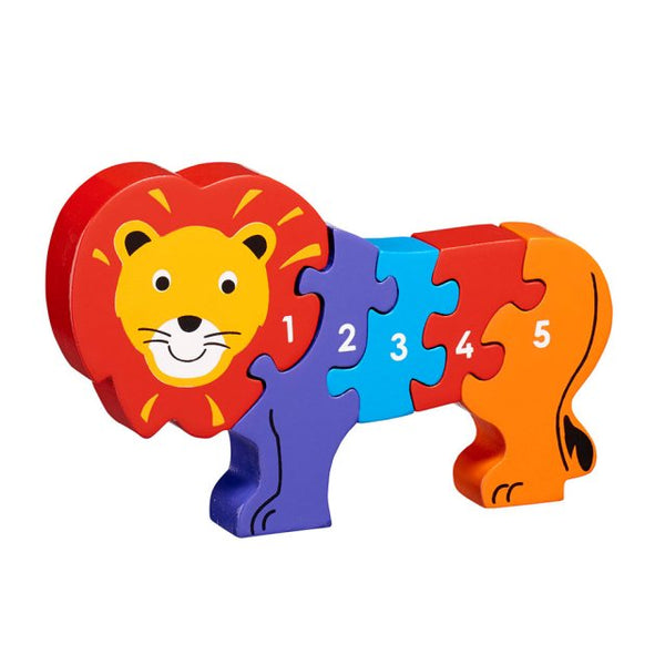 Lion 5 piece Jigsaw