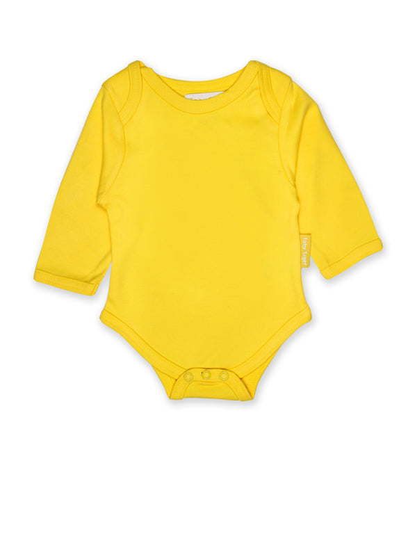 Body. Toby Tiger. Long Sleeved Basic. Yellow
