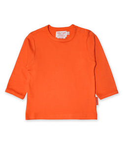 Top. Toby Tiger. Basics. Long Sleeved. Orange