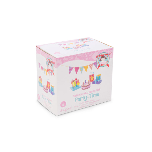 Party-Time Dolls House Accessory Pack (3+years)