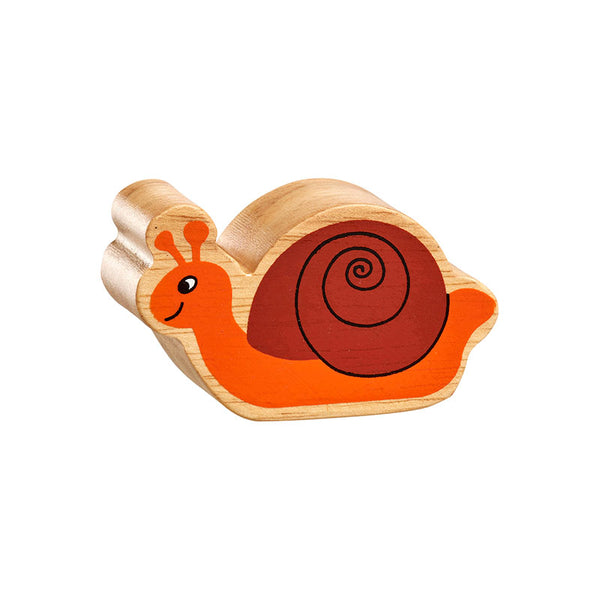 Natural Orange Painted Snail