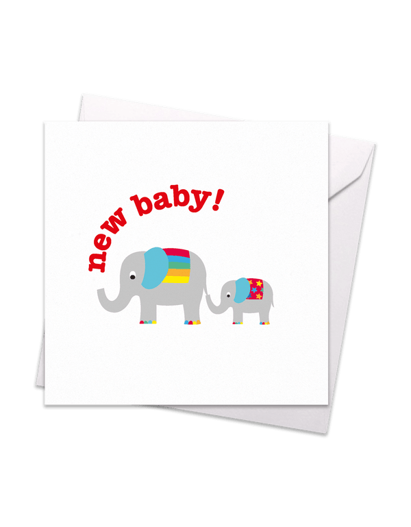 New Baby Elly Card