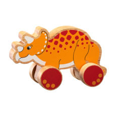 Push Along Triceratops
