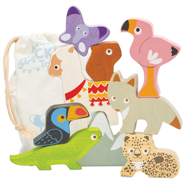 Andes Stacking Animals & Bag
