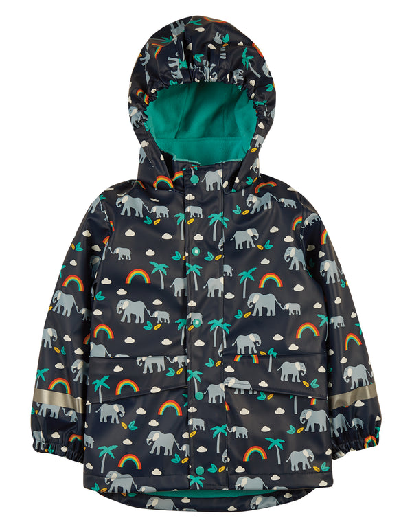 Puddle Buster Coat, Indigo Rainbow Walks