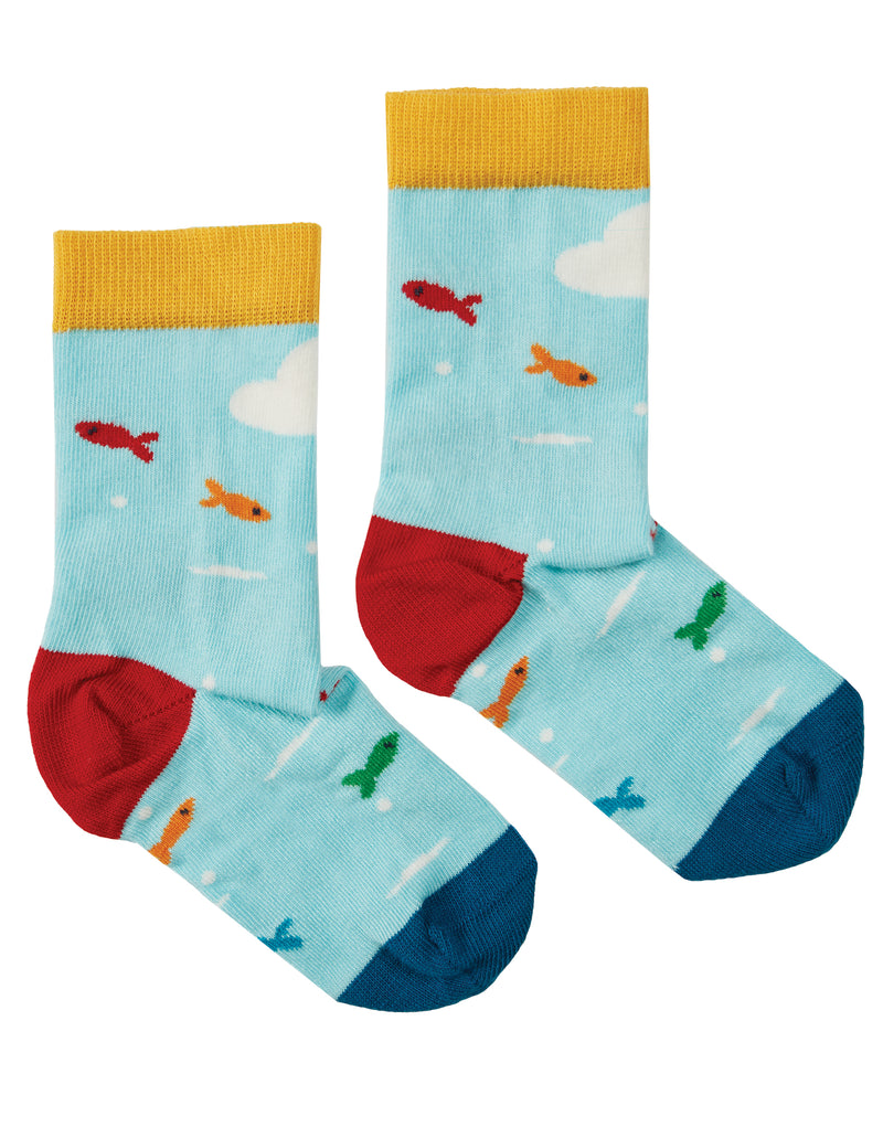 The National Trust Perfect Pair Socks Puffin