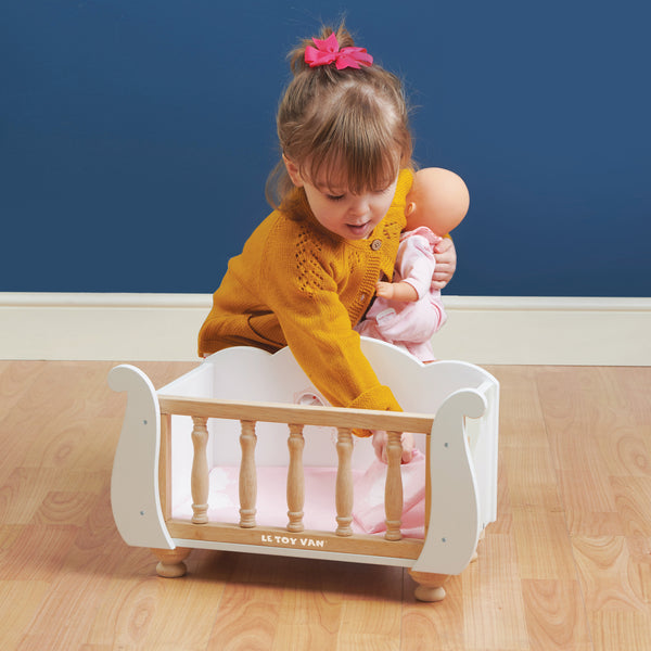 Sleigh Doll Cot & Crib IN STORE ONLY PICK UP. RESERVATION ONLY.