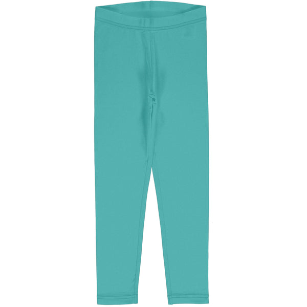 Maxomorra Leggings Solid Aqua