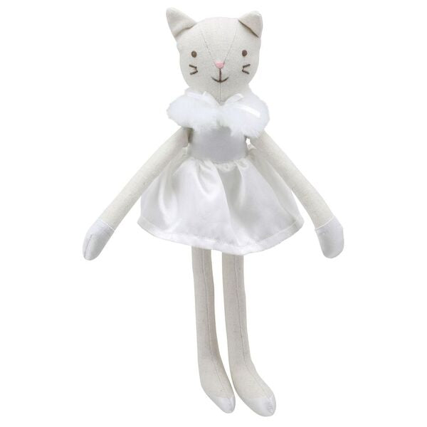 Wiberry Linen : Cat (White Dress)