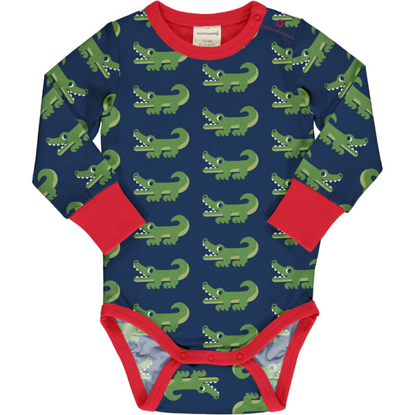 Maxomorra Body LS Crocodile