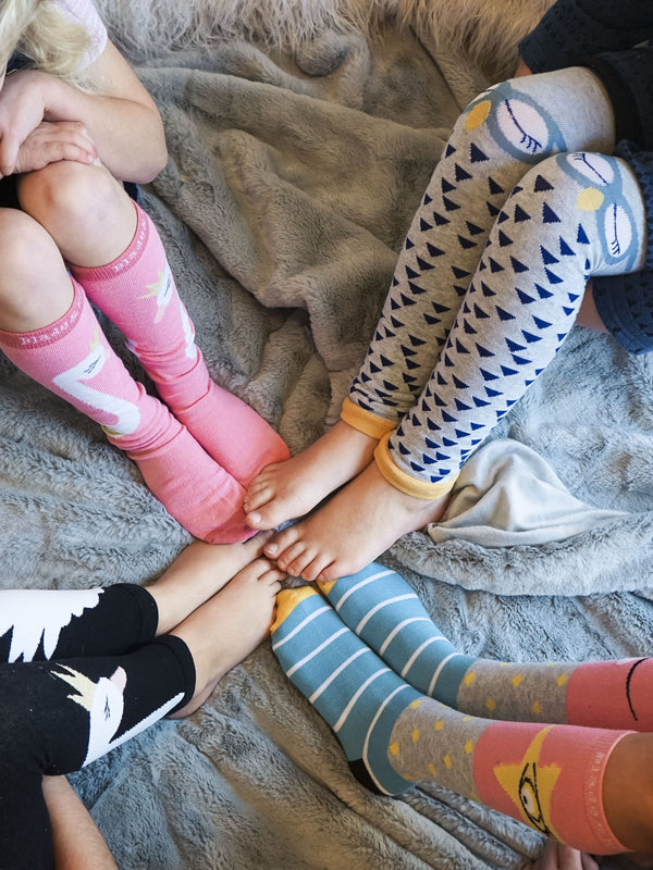 Fun Face Knee High Socks