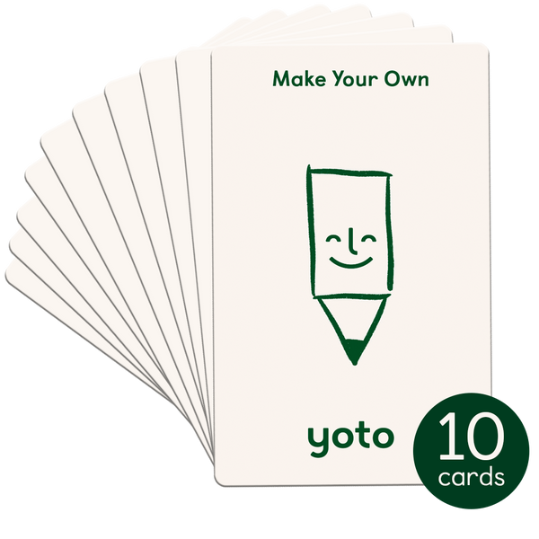 Make Your Own Cards (Pack of 10)