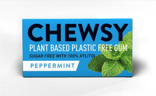 Chewsy - Plastic Free Chewing Gum- Peppermint