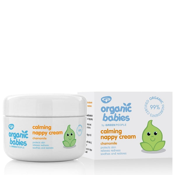 Organic Babies Green People Calming Nappy Cream (50ml)