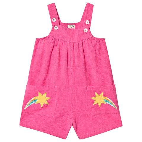 Peggy Cord Playsuit, Flamingo Shooting Stars (8-9yrs only)
