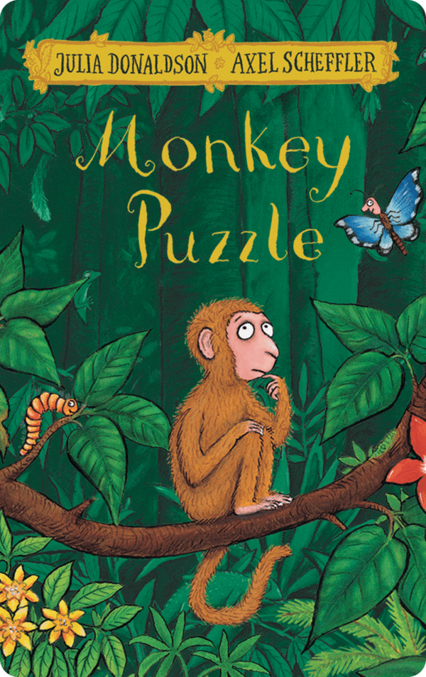 Yoto Card: Monkey Puzzle by Julia Donaldson