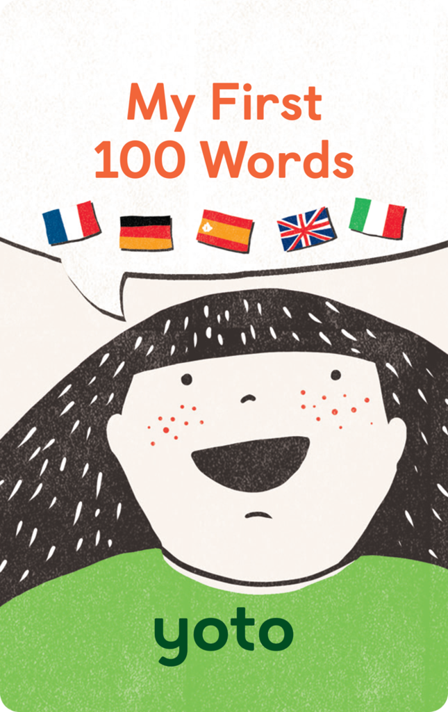 Yoto Card: My First 100 Words
