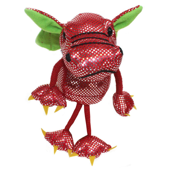Dragon (Red)- Finger Puppets