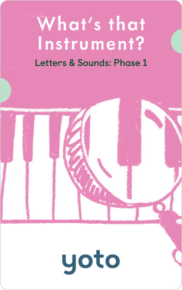 Phonics: Letters & Sounds: Phase 1- BUY me for £15* when you add a Yoto Player to your cart!