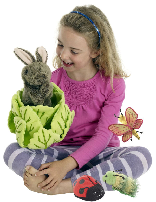 Rabbit in a lettuce - Mini beasts - Hide-Aways