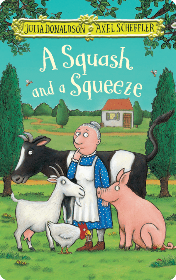 Yoto Card: A Squash and a Squeeze by Julia Donaldson