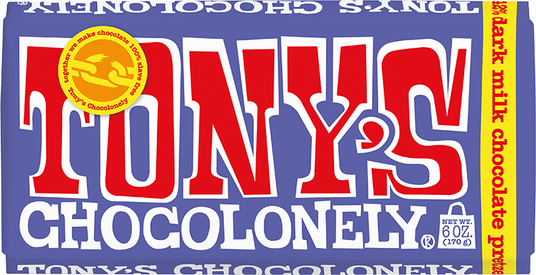 Tony's Chocolonely – Dark Milk Pretzel Toffee 180g Chocolate Bar