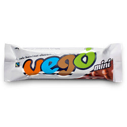 Vego Vegan Organic Fairtrade  Chocolate (65grams) CONTAINS NUTS