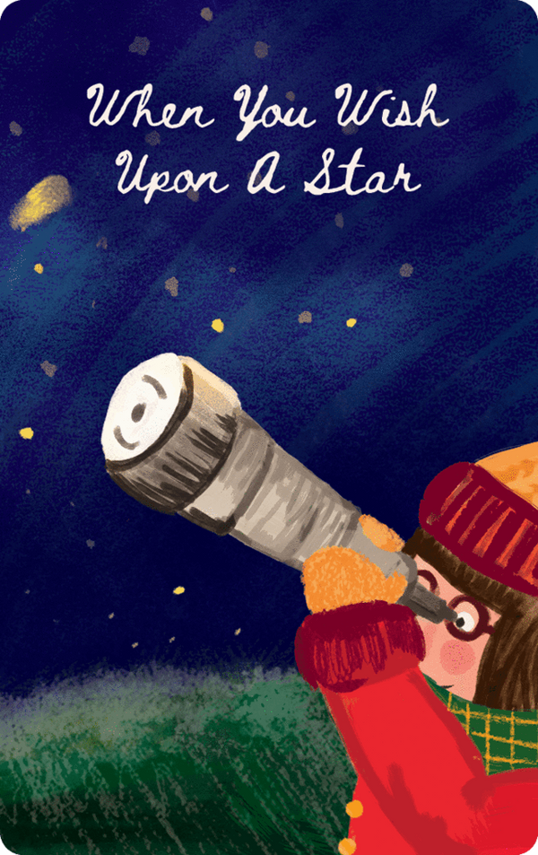 Yoto Card: When you Wish Upon a Star