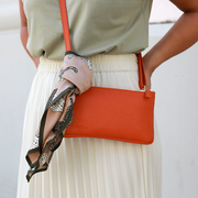 minibag orange + Wallet