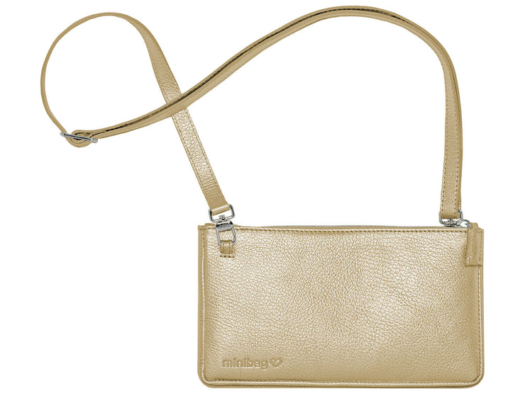 minibag metallic gold - minibag.com